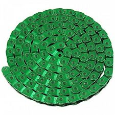 Green Half 1/2 Link BMX / Fixie / Single Speed Bike Chain  - Free Delivery