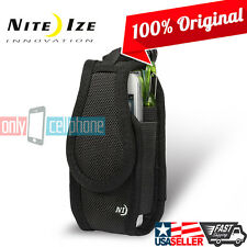 Nite Ize Tall Wallet Belt Clip Case Holster Pouch for Apple iPhone 5 6 Galaxy S5
