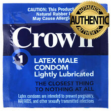 36 X Okamoto Crown Skinless Condoms ❤ Discreet Free UK Post ❤ ☆☆ 100% Genuine ☆☆