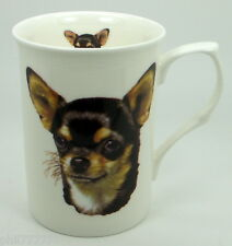 ~ Smooth Coat Chihuahua ~ Bone China Dog Mug
