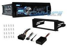 NEW JVC BLUETOOTH STEREO CD PLAYER RADIO WITH INSTALL KIT FOR HARLEY DAVIDSON