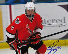 SEAN DAY RC AUTOGRAPHED 8X10 COLOUR PHOTO SIGNED COA MISSISSAUGA OHL ROOKIE