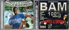 Niccademus (CD, PA) by Niccademus & Bam 100% Freestyle Volume 1 (CD,PA); 2 CDs