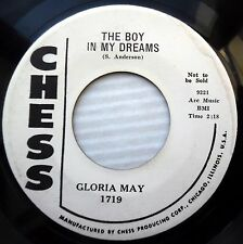 GLORIA MAY boy in my dreams What-cha doing in the woods 1959 Soul R&B WLP e5836