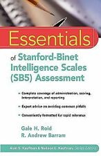 Essentials of Stanford-Binet Intelligence Scales (SB5) Assessment 39 by Gale...