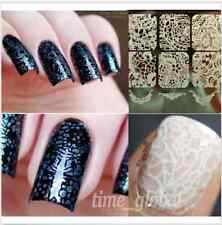 Nail Art Stamping Schablonen Stempel Nagel Tattoo Stamp Lace Pattern Y003