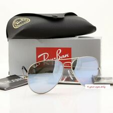 Ray-Ban Aviator RB3025 019/W3 58mm POLARIZED Flash Silver Mirror Lens Silver Frm