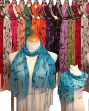 Wholesale 12pc LOT Polyester Shawl Long Scarf Stole Wrap Women scarves mustache