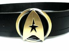 Star Trek TWOK The Wrath of Khan Logo CoSpLaY Costume Uniform Outfit Belt+Buckle
