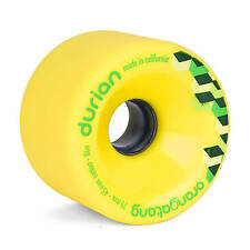 Orangatang Durian 75mm 86A amarillo Freeride Longboard Ruedas - Slidewheels