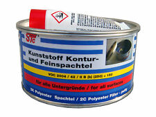 1 x 500 g STC Kunststoffspachtel Konturspachtel Feinspachtel Spachtelmasse