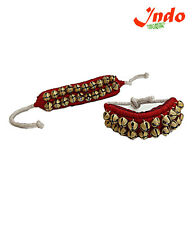 Indo Ghungroo For Classical Dance Two Lines Bells Mounted, Good Quality Ghungroo
