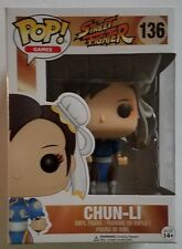 ON HAND - Funko POP Games Capcom Arcade Street Fighter Chun-Li #136 Vinyl Figure
