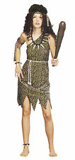 Cave Woman Girl Size 10 - 14 Fancy Dress Hen Night Costume P7598