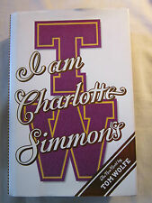 I Am Charlotte Simmons by Tom Wolfe (2004, Hardcover)