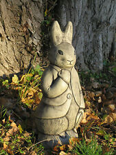 Peter rabbit Beatrix  stone garden ornament | Many more ornaments in my shop!