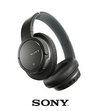 SONY MDR-ZX780DC Noise-Cancelling Wireless Bluetooth Headphones + Mic - TESTED