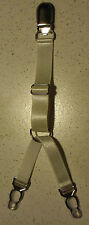 1 Porte Jarretelle à l'unité clip Y amovible détachable élastique blanc métal