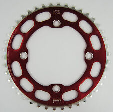 Porkchop BMX single speed bicycle Chop Saw I Chainring 42T 4 bolt 104 bcd RED