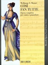 Cosi fan Tutte K. 588 Vocal Score NEW 050486284