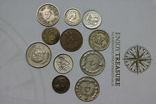 AFRICA & ISLAMIC MANY OLD COINS LOT A60 U3