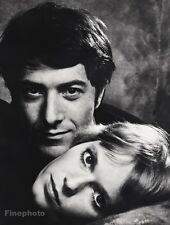 1969 Vintage 16x20 DUSTIN HOFFMAN MIA FARROW Film Movie Cinema PHILIPPE HALSMAN