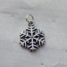 SNOWFLAKE SNOW CHARM 925 STERLING SILVER
