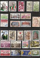 ITALIA, minicollezione Anniversari Storici, 24v usati (pha143)