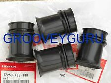 HONDA CB750 K F 77 & 78 GENUINE Carburetor Air Intake Rubbers Set 17253-405-300