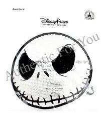 Disney Jack Skellington Nightmare Before Christmas Face Vinyl Car Window Decal