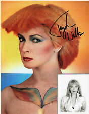 TOYAH WILCOX - personally signed 10x8