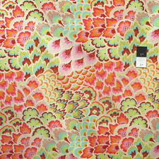 Amy Butler AB65 Soul Blossoms Peacock Feathers Blush Cotton Fabric By Yard