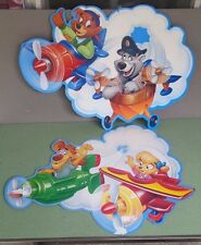 Vintage McDonalds Tale Spin ceiling mobile hangers store display Happy Meal 1990