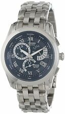 Citizen Eco Drive Calibre 8700 BL8000-54L Chronograph Stainless Steel Blue Watch