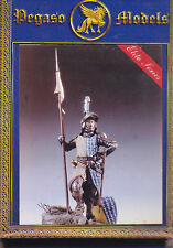 PEGASO MODELS 54-085 - SIENNESE KNIGHT 1280 - 54mm WHITE METAL NUOVO