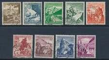 D.Reich Nr. 675-683 gestempelt, WHW 1938 Ostmark-Landschaften (23134)