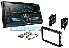 KENWOOD CAR STEREO W/ AUX/USB INPUTS & SIRIUS XM RADIO WITH DASH KIT & CD PLAYER
