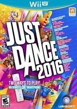 Just Dance 2016 (Nintendo Wii U, Ubisoft) -New/Sealed *Free Controller Phone App