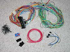 15 Fuse 24 Circuit Wire Harness street rat rod wiring 12v gm chevy sbc bbc