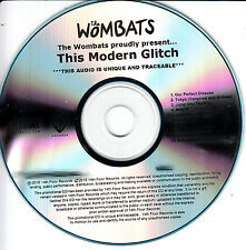 THE WOMBATS This Modern Glitch 2010 UK 10-trk watermarked promo test CD