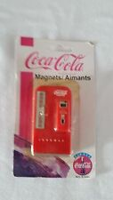 1997 Drink Coca-Cola in Bottles Red Vending Machine Refrigerator Magnet NIP