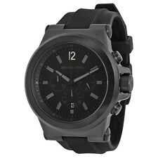 Michael Kors Black Silicone Strap Mens Watch MK8152