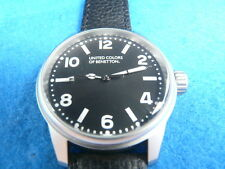 New Old Stock UNITED COLORS OF BENETTON Ref 7451210025 Quartz Men Watch