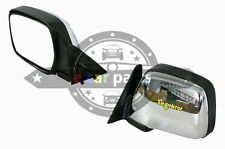 TOYOTA LANDCRUISER 100 SERIES FJ100 4/1998-7/2007 LEFT DOOR MIRROR CHROME ELEC