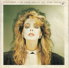45TRS VINYL 7'' / FRENCH SP SANDRA / IN THE HEAT OF THE NIGHT