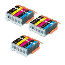 15 Pack B PBK C M Y Ink Set for Canon 270 271 Pixma MG6800 MG6820 MG6821 MG6822