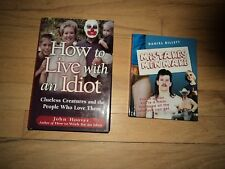 2 Humor Books How To Live With An Idiot AND Mistakes Men Make Mullett About.Com