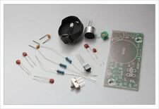 DIY electronic Kit - Regenerative FM radio sound transmitter mic kit PCB bug spy