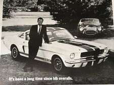 Mustang Shelby Cobra G T 350 Dealer Poster
