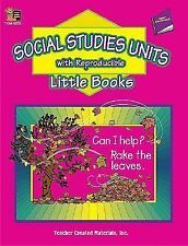 Social Studies Units with Reproducible Little Books
